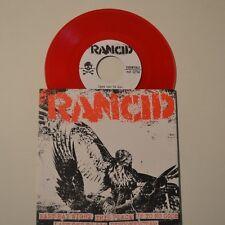 "RANCID - EAST BAY NIGHT - 2012 5-TRACKS 7"" EP RED COLOR VINYL"