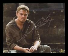 LEONARDO DICAPRIO AUTOGRAPHED SIGNED & FRAMED PP POSTER PHOTO
