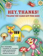 Hey, Thanks!: A Fun Card-Making Kit for Grateful Kids
