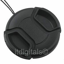 Front Lens Cap Cover For Panasonic AG-HMC150 AG-HMC150PJ AG-DVX100B Snap-on