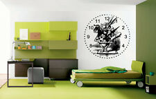 Wall Vinyl Sticker Decals Mural Room Design Alice In Wonderland Rabbit  bo1646
