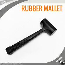 NEW 32 OZ RUBBER HAMMER SOFT FACE HEAVY BLOW MALLET NON SLIP 2LB AUTO REPAIR