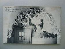 """Ansichtskarte Heilbronn Wandgemälde """" Die Werbung """" Vorzimmer des Trauraumes"""