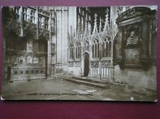 POSTCARD KENT CANTERBURY CATHEDRAL -TRANSEPT OF MARTYROOM