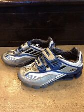 Boys Geox J Tornado Sneakers, Size 27 (10 youth US), Effectively New