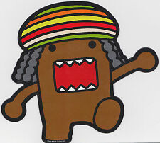 Rasta Domo kun Car Magnet ~ Reggae Dreadlocks Bob Marley ~ Officially Licensed