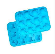 Silicone DIY Frog Fondant Cake Mold Chocolate Candy Ice Tray Jelly Baked Mould