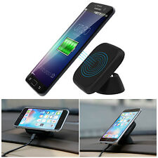 Qi Wireless Car Charger Charging Pad Stand Dock for Samsung Galaxy S6/S7 Edge