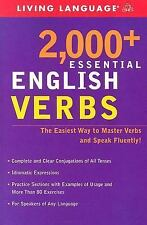 2000+ Essential English Verbs (ESL), Living Language, Good Condition, Book