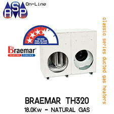 BRAEMAR TH320 - DUCTED GAS HEATER - 18KW NATURAL GAS - INTERNAL OR EXTERNAL KIT