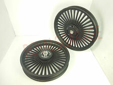 "ROYAL ERADO 36 SPOKES HARLEY DESIGN ALLOY WHEEL FOR CLASSIC FRONT 19"" REAR 18"""