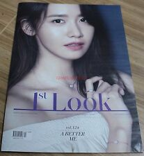 1ST LOOK FIRST LOOK VOL.124 GIRLS' GENERATION YOONA COVER TABLOID MAGAZINE NEW