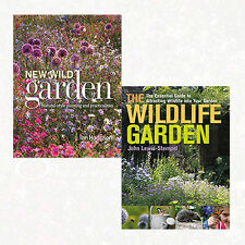 New Wild Garden and The Wildlife Garden 2 Books Collection Set Pack NEW English