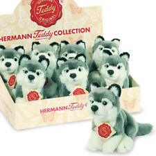 Husky soft toy plush dog / puppy by Teddy Hermann - 15cm - 92802
