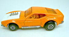 Matchbox Superfast 44B Boss Mustang Vorserienmodell in orange & weiß
