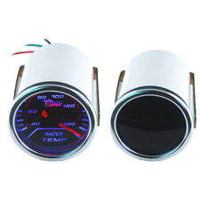 "Car Motor Universal Smoke Len 2"" 52mm Indicator Water Temp Gauge Kit Meter"