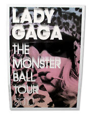 LADY GAGA - LEOPARD MONSTER BALL TOUR 2010 GLOSSY WALL POSTER NEW OFFICIAL 26X38