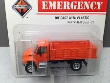 HO 1/87 Boley # 3007-99 GMC Topkick Single Axle Truck w/stake bed body - Orange