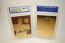 AARON RODGERS 2005 Draft Pick FEEL THE GAME Gold Card Graded GEM MINT 10 *BOGO*
