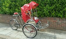 Stainless Steel CycloTrike Tricycle 3 Wheels For Adults Custom Made