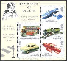 GB 2003 Toys/Plane/Train/Car/Bus/Rocket/Rail/Motoring/Transport 5v m/s (s5170)