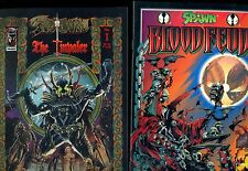 SPAWN THE IMPALER #1 & BLOOD FEUD #1 VF (2 BOOKS) IMAGE 1995 from TODD McFARLANE