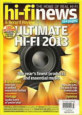 HI-FI NEWS & Record Review Magazine 2013 YEARBOOK Best Music Turntables Speakers