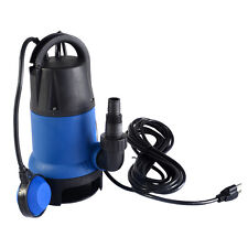 1/2 HP 2000GPH Submersible Dirty Clean Water Pump Flooding Pond Swimming Po