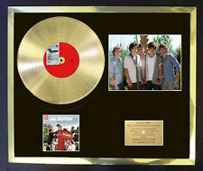 ONE DIRECTION 1D PHOTO CD GOLD DISC FREE POSTAGE!!