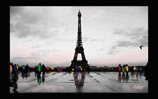 quadro-Parigi - Parisi in rain   -malarei-pintura-peintura painting