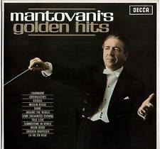 MANTOVANI ~ MANTOVANI'S GOLDEN HITS ~ 1967 UK STEREO LP RECORD ~ DECCA SKL 4818