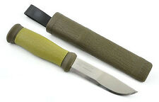 Mora of Sweden Outdoor 2000 Olive Green Stainless Steel Knife Morakniv 10629