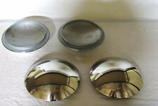 Ford Passenger Car & Pickup Truck Stainless Baby Moon Hubcap Smoothy Smooth