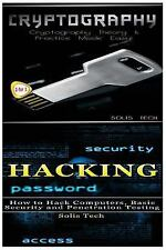 Cryptography and Hacking by Solis Tech (2016, Paperback)