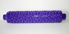 Pattern Embossing Rolling Pin PURPLE Sugarcraft, Cake Decorating, Baking
