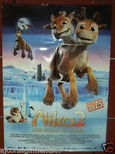 """Niko 2: Little Brother, Big Trouble 40""""X27"""" Original Folded Movie Poster 2013"""