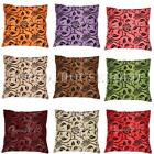 Decorative Flower Pattern Soft Home Throw Pillow Cushion Cover Case Sofa Bed