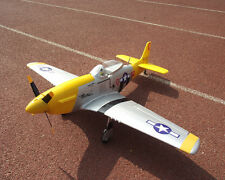 Unique RC Yellow EPO Foam P51 Mustang 30A Brushless ESC PNP/ARF Airplane Model