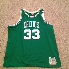 Authentic Mitchell and Ness Larry Bird Boston Celtics Jersey 1985-1986