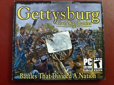 Video Game PC Gettysburg Civil War Battles that divide a nation NEW SEALED Jewel
