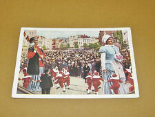 PHOTO CHOCOLAT COTE D'OR 1940 FOLKLORE BELGIQUE N°120 KORTRIJK MANTEN KALLE