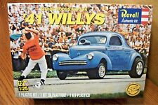 REVELL STONE, WOODS & COOK '41 WILLYS 1/25 SCALE MODEL KIT