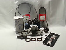 GENUINE/OEM COMPLETE TIMING BELT & WATER PUMP KIT ACURA HONDA V6 FACTORY PARTS