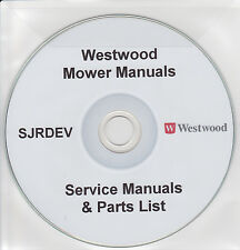 Westwood Ride On Mower Garden Tractor User Manual S/T Series Collection