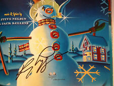 SIGNED Frosty the Snowman by Kenny Loggins HC +3-song CD Christmas