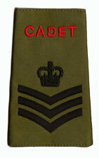 Official ACF / CCF Staff Sergeant S/SGT RANK SLIDE for MTP ( Army Cadet Force