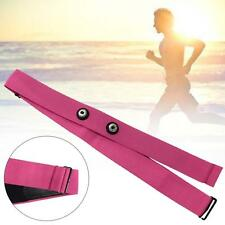 Pink Chest Belt Strap Band for Garmin Wahoo Polar Sport Heart Rate Monitor MT