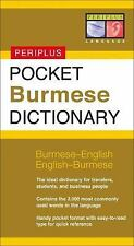 Pocket Burmese Dictionary: Burmese-English English-Burmese (Periplus Pocket Dict