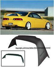 For 94-01 Acura Integra 3Dr DC2 MUGEN Gen 1 ABS Plastic Rear Trunk Wing Spoiler