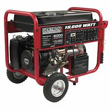 Gentron 10,000 Watt Portable Gas Generator with Electric Start Free Shipping NEW